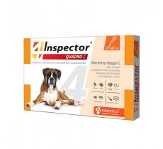 Капли от блох и клещей Инспектор QUADRO для собак 25-40 кг №1 Экопром