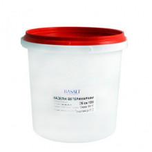 Вазелин 1 кг для смягчения кожных покровов всех видов животных Базальт