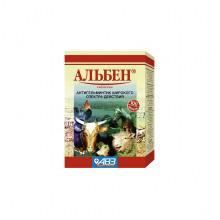 Альбен для сельскохозяйственных животных и птиц №100 АВЗ ящик 40