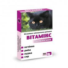 Витамикс 12 для кошек мультисмак №100 Круг