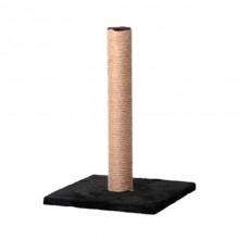 Когтеточка-столбик на подставке джутовая 30*30*40 см FOX S820-1