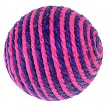 Игрушка для кошек когтеточка шарик красно-фиолетовый 9 смх6 96 - ИГРУШКИ