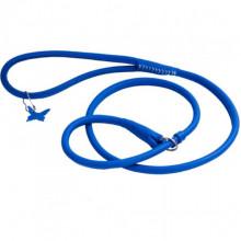 Поводок-удавка Collar GLAMOUR круглая ширина10 мм длина 135 см синяя - ОШЕЙНИКИ, АМУНИЦИЯ