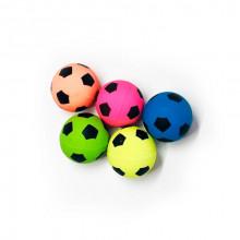 Игрушка для кошек Мяч попрыгун футбольный 3 см FOX NT680