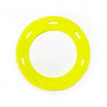 Игрушка для собак Кольцо с 6 сторонами желтое с запахом ванили 15 см FOX TF-032