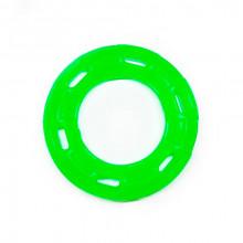 Игрушка для собак Кольцо с 6 сторонами зеленое с запахом ванили 12 см FOX TF-029