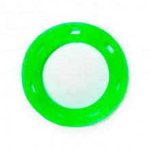 Игрушка для собак Кольцо с 6 сторонами зеленое с запахом ванили 15 см FOX TF-034