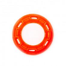 Игрушка для собак Кольцо с 6 сторонами оранжевое с запахом ванили 12 см FOX TF-030
