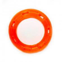Игрушка для собак Кольцо с 6 сторонами оранжевое с запахом ванили 15 см FOX TF-035