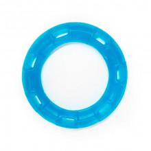 Игрушка для собак Кольцо с 6 сторонами синее с запахом ванили 15 см FOX TF-033
