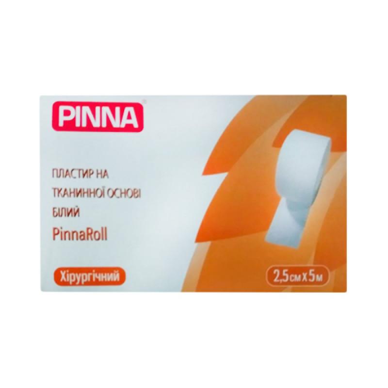 Пластырь Pinna на тканевой основе 2,5 х 500 см