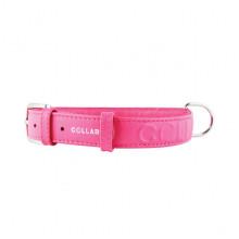 Ошейник Collar Glamour с объемной надписью ширина 25мм длина 38-49см розовый 3457 7 - ОШЕЙНИКИ, АМУНИЦИЯ