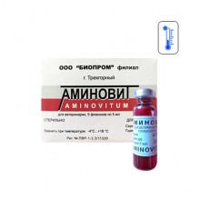 Аминовит 5 мл инъекционный Биопром - ИНЪЕКЦИОННЫЕ