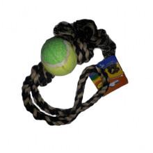 Игрушка для собак Грейфер для бросков с теннисным мячом 18 см 100 XJ0141