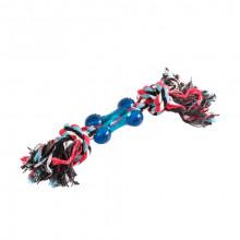 Игрушка для собак Грейфер двухузловой с косточкой 12 см 100 XJ0173