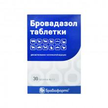 Бровадазол №30 таблетки антигельминтные Бровафарма