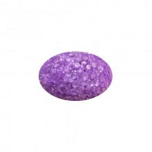 Игрушка для котов яйцо глицериновое фиолетовое с бубенчиком  3*4,5см FOX XWT002-4