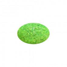 Игрушка для котов яйцо глицериновое зеленое с бубенчиком  3*4,5см FOX XWT002-5