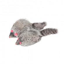 Игрушка для кошек Мышь серая 10 см FOX M004G
