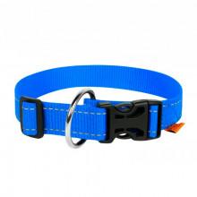 Ошейник Dog Extreme нейлон с ручкой голубой 40 мм х 55-75 см COLLAR 67052