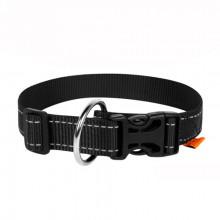 Ошейник Dog Extreme нейлон с ручкой черный 40 мм х 55-75 см COLLAR 67051