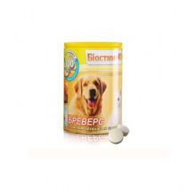 Биостим 40 300 таблеток Бреверс с пивными дрожжами и чесноком для собак