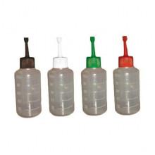 Бутылочка для расфасовки спермы осеменения 100 мл с цветнок крышкой