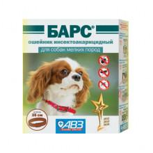 Барс ошейник инсектоакарицидный 35 см для собак мелких пород