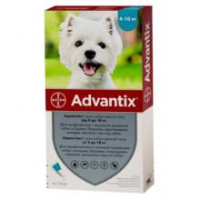 Адвантикс №4 от 4 до 10 кг капли противопаразитарные для собак Bayer - ИНСЕКТОАКАРИЦИДНЫЕ КАПЛИ
