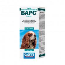 Барс 100 мл спрей от блох и клещей для собак Россия 0356