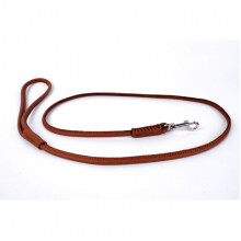 Поводок-удавка Collar SOFT круглая ширина10мм длина 183см коричнивая - ОШЕЙНИКИ, АМУНИЦИЯ
