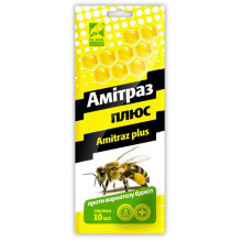 Амитраз плюс полоски №10 от варроатоза пчел O.L.KAR - ПРЕПАРАТЫ