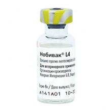 Вакцина Нобивак L 4 MSD AH 1 доза - ВАКЦИНЫ ДЛЯ СОБАК