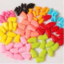 Колпачки для когтей Коготки S 2,5-4 кг цветные