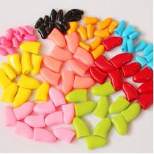 Колпачки для когтей Коготки ХS до 2,5 кг цветные