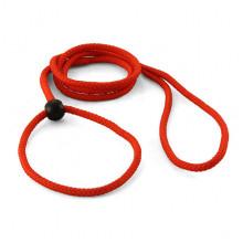 Поводок-ринговка пластиковое кольцо нейлон 6,0 мм 1,3 м 288 SH129 - ОШЕЙНИКИ, АМУНИЦИЯ