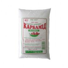 Азотное удобрение Карбамид для повышения плодородности почв и в качестве подкормки для растений 1 кг
