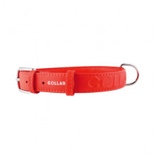 Ошейник Collar Glamour с объемной надписью ширина 35 мм длина 46-60 см красный 3458 3 - ОШЕЙНИКИ, АМУНИЦИЯ