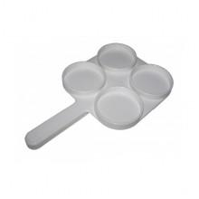 Тест-пластина 26*16 см молочно-контрольная для исследования на маститы