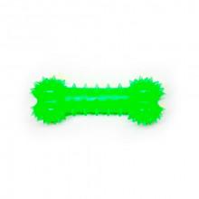 Игрушка для собак Косточка зеленая с запахом ванили 12 см FOX TF-009