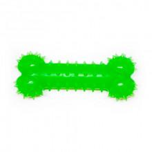 Игрушка для собак Косточка зеленая с запахом ванили 15 см FOX TF-014