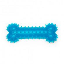Игрушка для собак Косточка синяя с запахом ванили 15 см FOX TF-013