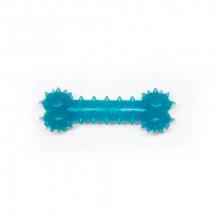 Игрушка для собак Косточка синяя с запахом ванили 8 см FOX TF-003