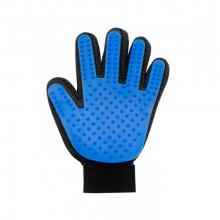 Перчатка для вычесывания шерсти True Touch домашних животных фурминатор левая
