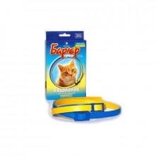 Барьер ошейник от блох и клещей для кошек синий Продукт