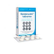 Бровальзен 7,5% №30 таблетки антигельминтные Бровафарма - АНТИГЕЛЬМИНТИКИ (ПРОТИВОГЛИСТНЫЕ )