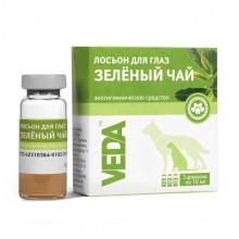 Фитоэлита Зеленый чай 10 мл лосьон для глаз для кошек и собак Веда - КАПЛИ ГЛАЗНЫЕ и ЛОСЬОНЫ. КАПЛИ В НОС