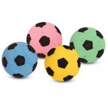 Игрушка для кошек Зефирный футбольный одноцветный D 450 мм 25шт ALL01