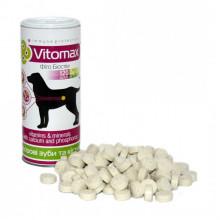 Витамины Vitomax для собак укрепления зубов и костей 120 таблеток 200077