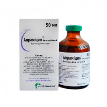 Апрамицин инъекционный 50 мл Huvepharma